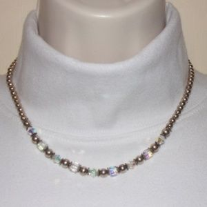 Northern Lights Sterling Silver Necklace #1594